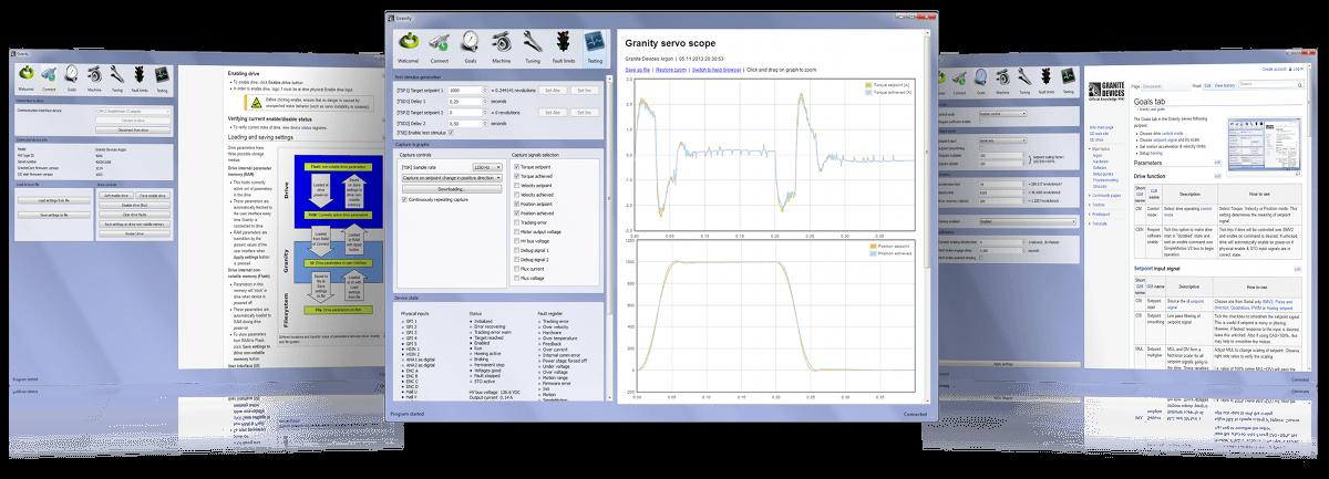 Servo configuration tool
