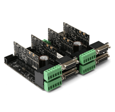 IONICUBE mutliaxis servo drive platform with drives