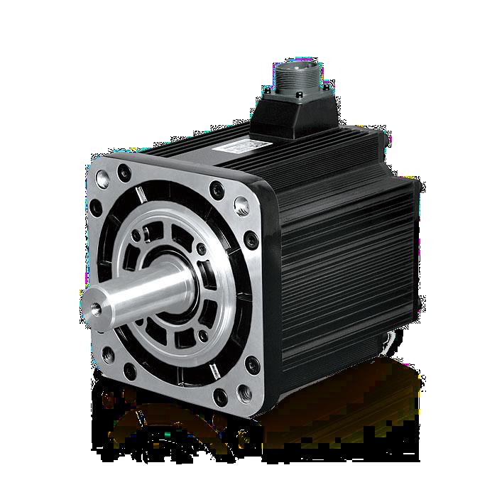 Low inertia AC servo motor