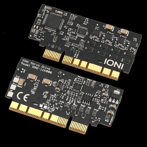 Miniature OEM servo drive board IONI