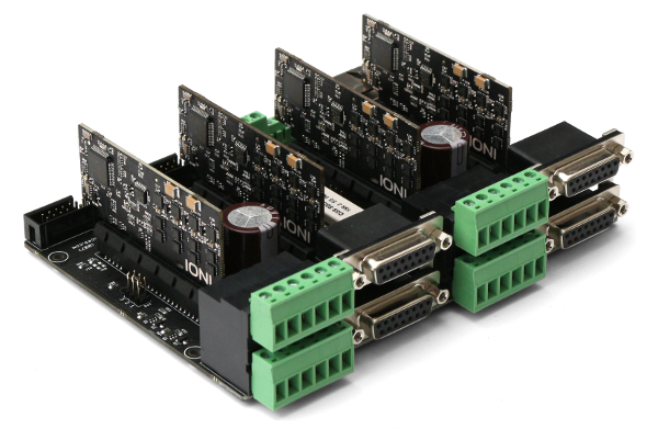 Multiaxis stepper drive board