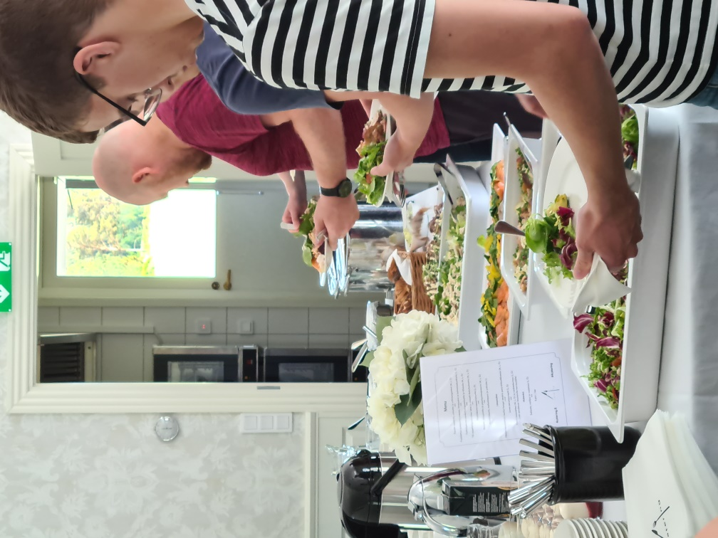 Summer event foods